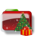 Christmas-Folder-Tree-Gift icon