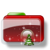 Christmas-Folder-Tree-Stars icon