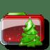 Christmas-Folder-Tree icon