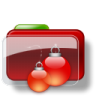 Christmas-Folder-Balls icon