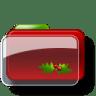Christmas-Folder-Holly-3 icon