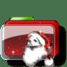 Christmas-Folder-Santa icon