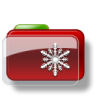 Christmas-Folder-Snow icon