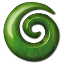 Green stone icon