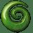 Green stone icon