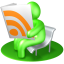RSS-Reader-Green icon