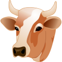 Cow-head icon