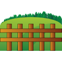 farm fence icon