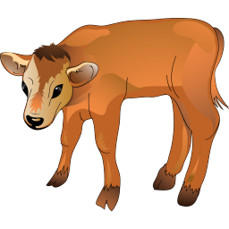Calf Icon | Agriculture Iconset | Aha-Soft