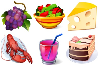 Desktop Buffet Icons