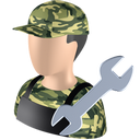 Serviceman icon