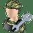 Serviceman icon