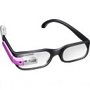 Girl-Google-Glasses icon