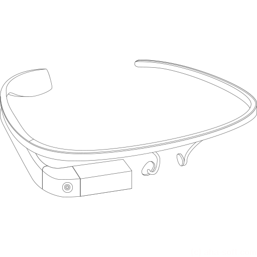 Google Glass construction icon