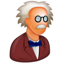 http://icons.iconarchive.com/icons/aha-soft/free-large-boss/128/Professor-icon.png