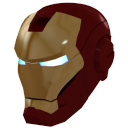 Ironman-Mask-1-Gold icon