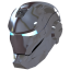 Ironman Mask 2 Silver icon