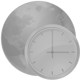Time Zones disabled icon
