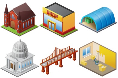 Large Home Icons