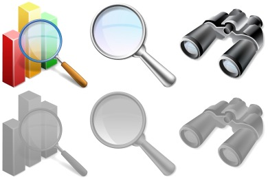 Large SEO Icons