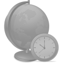 Network time disabled icon