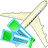 Air tickets icon