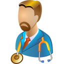 Head-physician icon