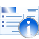 Medical invoice information icon