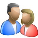 Account uploading premium  People-icon