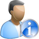 user info icon