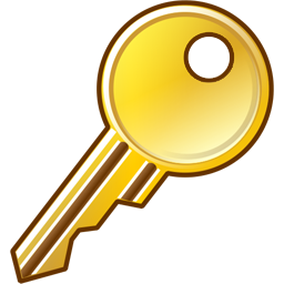 Key Icon | Security Iconset | Aha-Soft