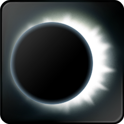 solar eclipse icon