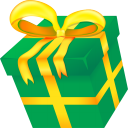 Christmas present icon