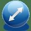 Resize diag 1 icon