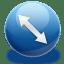 Resize diag 2 icon