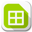 Apps Libreoffice Calc B icon