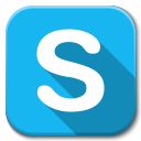 Apps Skype B icon