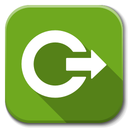 Apps Dialog Logout icon
