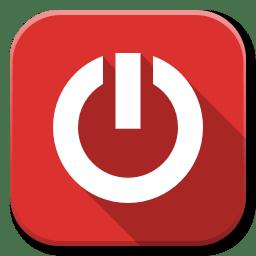 Apps Dialog Shutdown icon