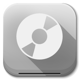 Apps Drive Optical icon