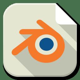 Apps File Blender icon