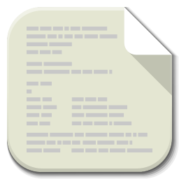 Apps File Text Plain icon