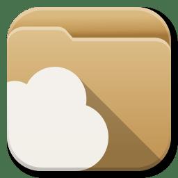 Apps Folder Cloud icon