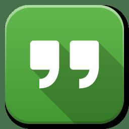 Apps Google Hangouts icon