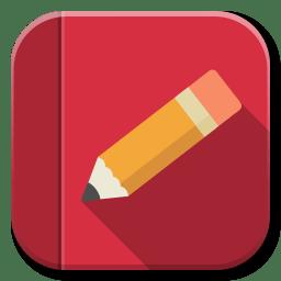 foto de Apps Rednotebook Icon | Flatwoken Iconset | alecive