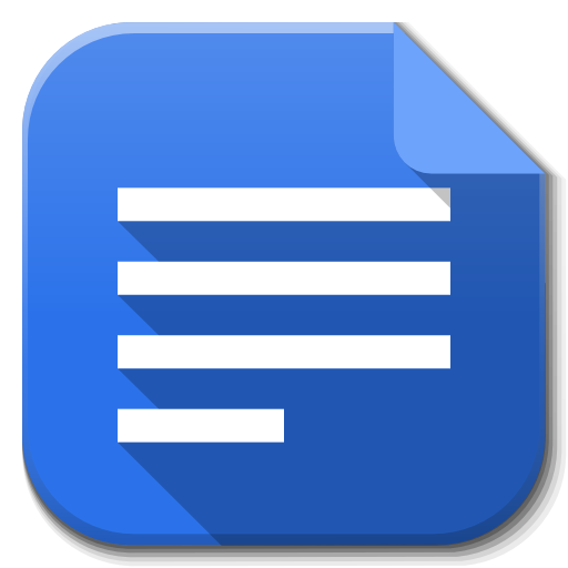 google docs icon - tools to work from home productively