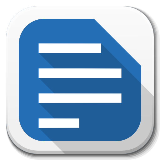 Apps-Libreoffice-Writer-B icon