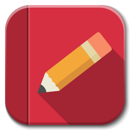 Apps Rednotebook Icon | Flatwoken Iconset | alecive