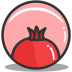 Button-pomegrante icon