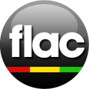 FLAC black icon